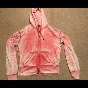 Urban pink zip up